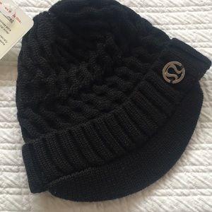 Lululemon Striped Brim Merino Wool Beanie